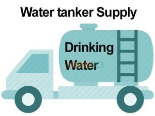 Water tanker supplier 24 hour service