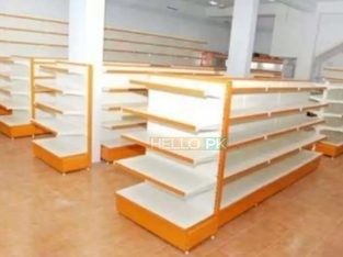 We deal in all type of Racks.Double side gondola racks for departmental stores