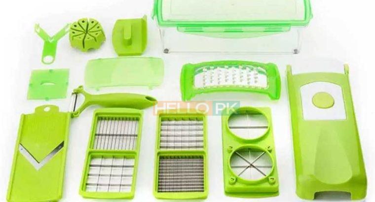 Premium Quality 12 Pcs Multi functional Shredder Fruit Vegetable Peeler | Salad Maker