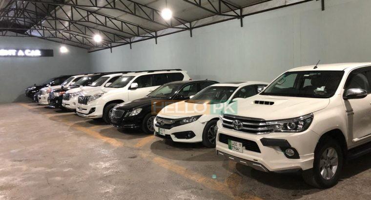 Prado,Land Cruiser v8,Audi A6,Mercedes E class,Rivo,Honda Civic,ON Rent at Very Reasonabale Rates