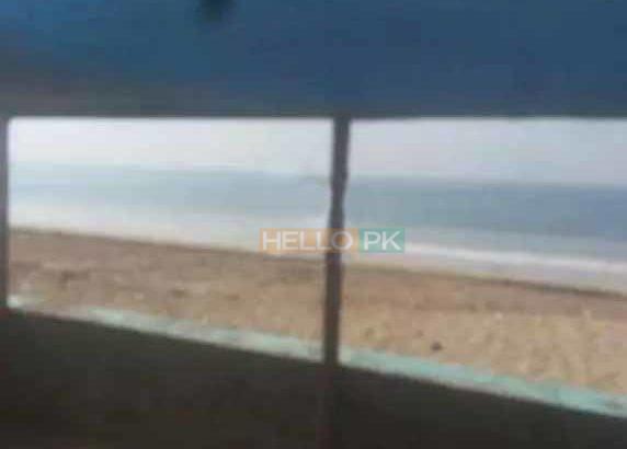 Beach Rental Huts Karachi.For Beach Picnic. Sandspit Beach