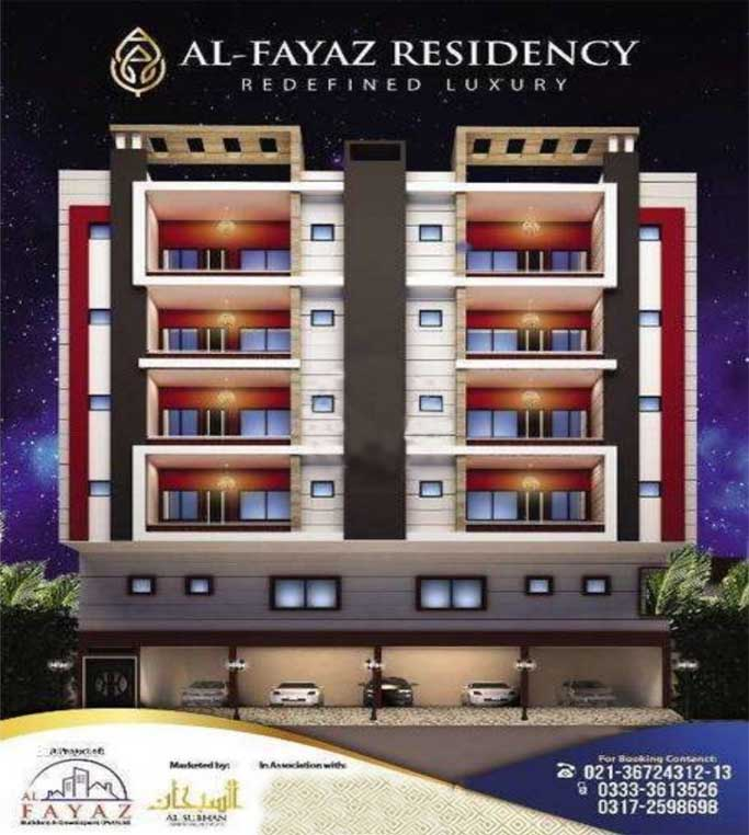 Al Fayaz Residency 3 & 4 Room Apartment Available On 24