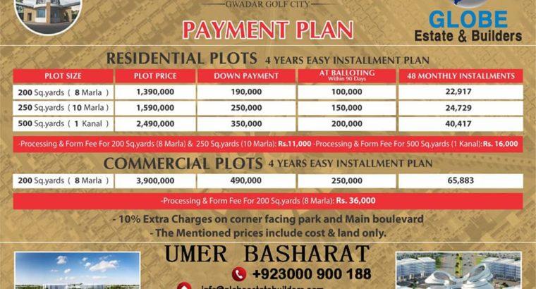 Gwadar Golf City All Deals.Mid Rise Commercials.Coastal Commercial. Pak China Enclave.