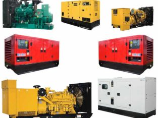 Deals in Old & New Generators,Engines,Pumps,Compressors & Heavy Equipment Diesel and gas generator