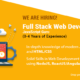 Full Stack Web Developer Required in Islamabad