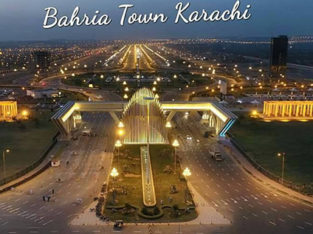karachi Behria town ke prime location precent 2 iqbal villas ke sat luxury apartment ke confirm booking