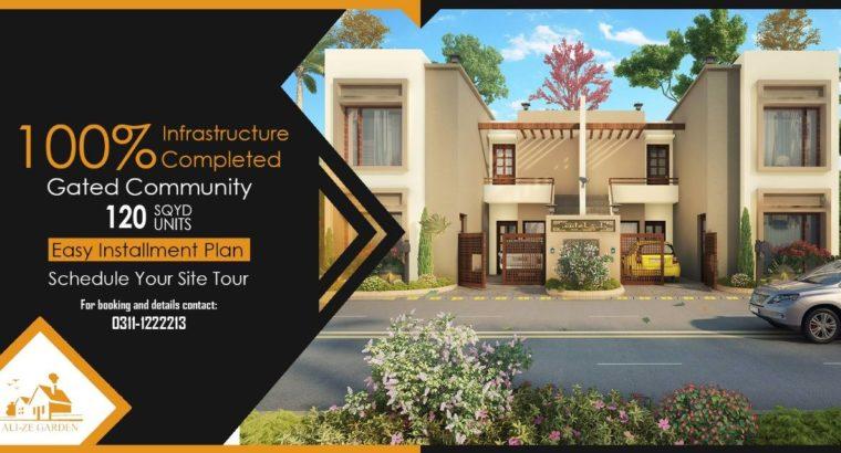 Ali ze Garden 200 & 120 Yards one unit Super Luxury bungalows.Your Dreams Comes True