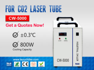 Portable Water Chiller CW 5000 for CO2 Laser