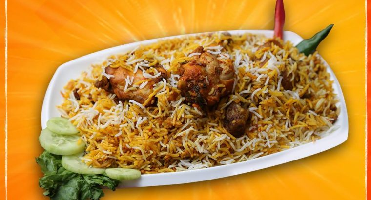 Biryani chowk is the Best Biryani in Karachi.delivery available