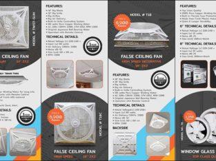Best Quality False Ceiling Fans and Exhaust Fans