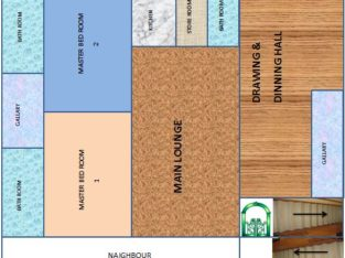 Luxury Portion (2 bed,1Drawing-Dinning, 1 Launch) for urgent sale
