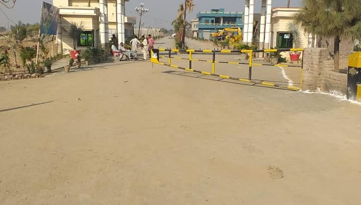 Best time for investment.8 marla plot for sale 44 foot frount Rs 18 lac
