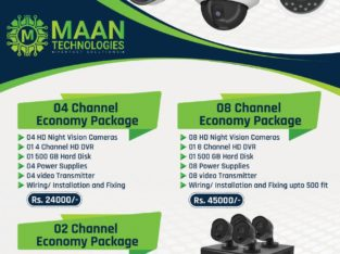 SECURE HOME & OFFICE 4 HD Camera Full pkg Rs 24000