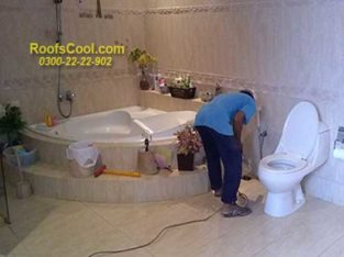 BATHROOM & Tank Leakage WATER Leakage Proofing ROOF HEAT PROOFING