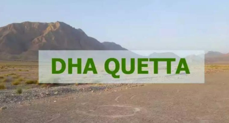 DHA Quetta 500yd full paid affidavit file for sale.just call