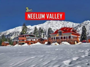Full Adventure 3 Days Snowy Trip To Neelum Valley For Honeymoon,Families and Friends.