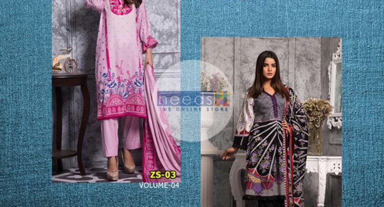 RANG REZA LAWN COLLECTION VOLUME 3 & 4 WITH LAWN DUPATTA