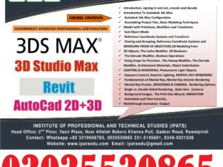 3D Max Professional Course