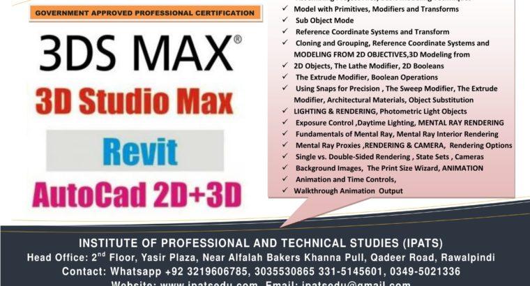 3D Max Professional Course