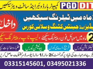 DIT CIT Graphic Designing Web Development Course in Rawalpindi