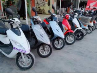 Japani scooty & Spair parts.Delivery service Available All Pakistan