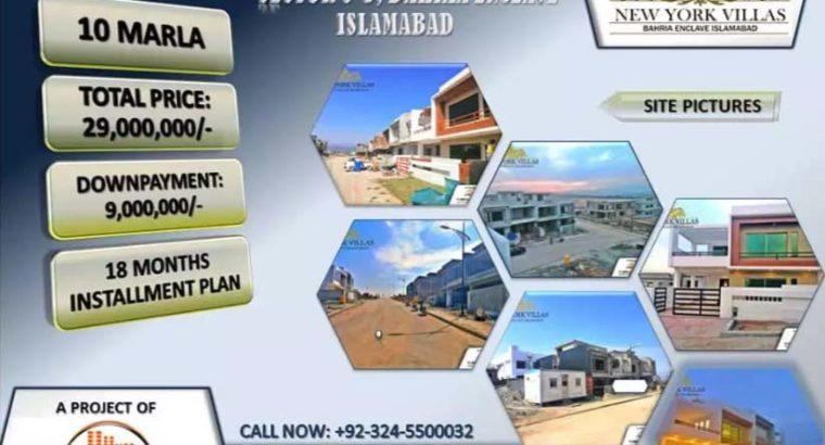 4 BED Luxury Villa for Sale in Sec-C3, Bahria Encalve Islamabad