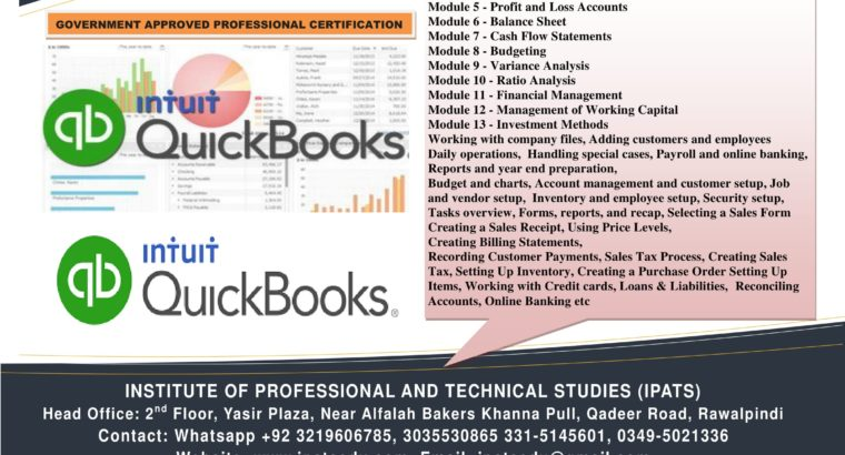 Government diplomas certification offer Rawalpindi quick book peach tree tally ERFP