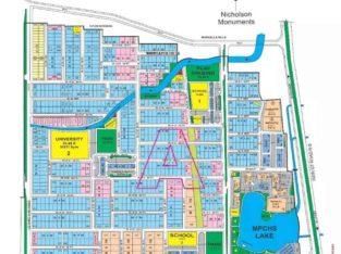 Best location.B-17 block A corner commercial plot 40 x 60