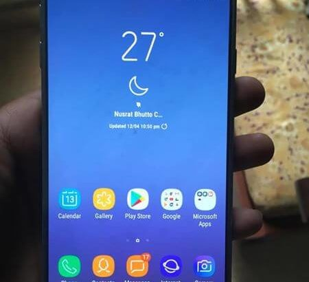 Samsung J7 Pro Dual Sim Fingerprint with Box.Cash on delivery