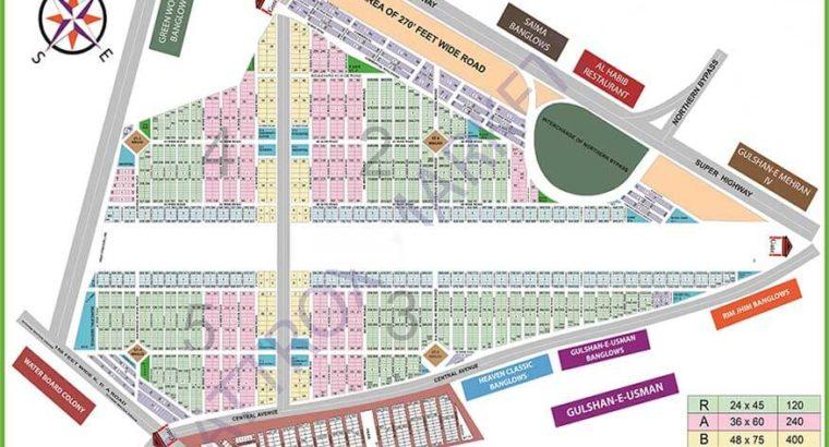 Sadi Town/Garden Hawksbay Plots/Houses/Flat/Shops Sale Purchase