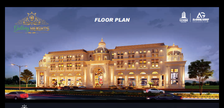 Gulberg Heights.Luxury Residential Apartments & Luxury Shopping Mall