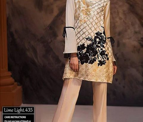 Limelight Lawn with Bamber Emb Dupatta.Delivery All Pakistan