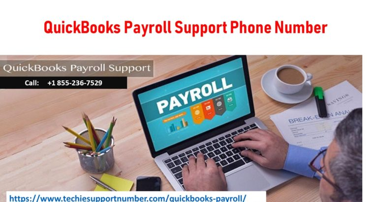 QuickBooks Payroll Support Phone Number +1 855-236-7529