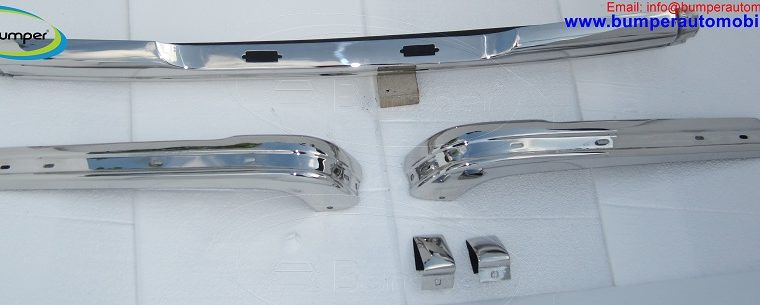 BMW E21 bumper by stainless steel (1975 – 1983)