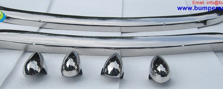 MGB bumper by stainless steel (1962-1974) t