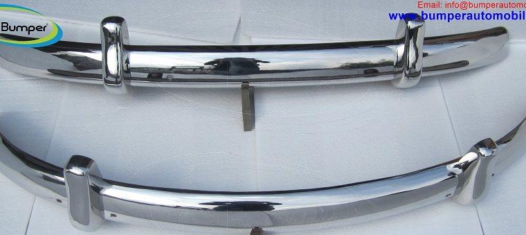 Volkswagen Beetle Euro style bumpers (1955-1972)