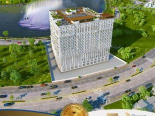 CRESCENT LAKE TOWER.Luxury Apartments & Shops.Bahria Town Rawalpindi