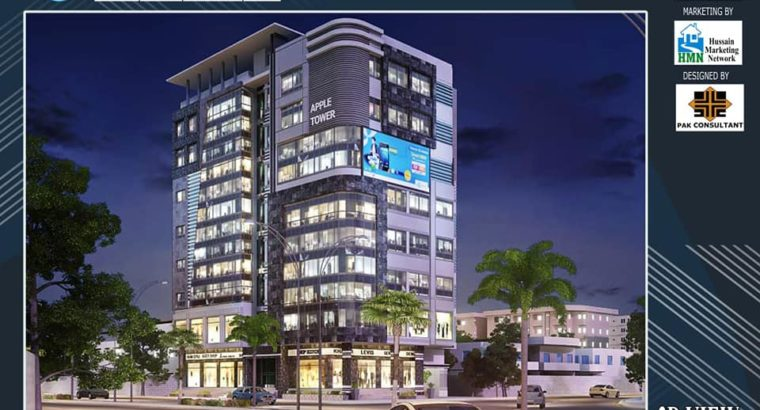 Apple Tower.Shops /Offices /Hotel.Best Investment in Hyderabad