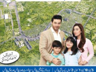 Pakistan's First Smart City.5,10 Marla /1,2 Kanal Plots.| TopCity-1 |