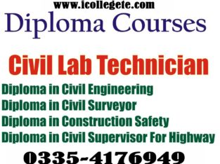 Civil surveyor course in Lahore