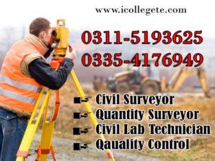 Civil Surveyor Quantity Course in Rawalpindi Pakistan