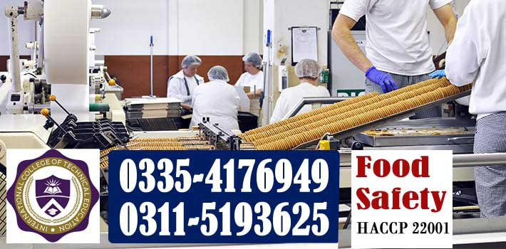 Food Safety Management Course in Rawalpindi islamabad in Pakistan