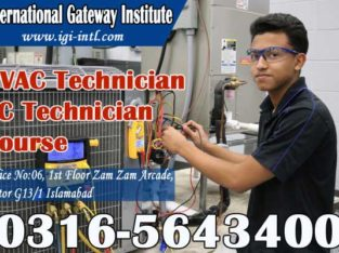 Air Condition Course Offering in Islamabad O3165643400