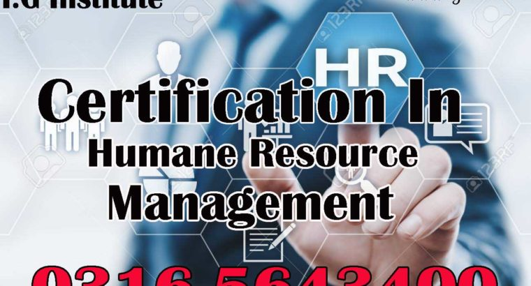Certified Qualification in Human Resource Management Course in Islamabad
