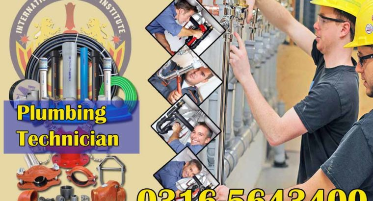 Plumbing Engineering Short Diploma Course in Islamabad, Rawalpindi, Peshawar