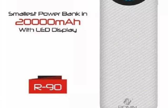 Smallest Power Bank.Ronin Power Banks With LED Display