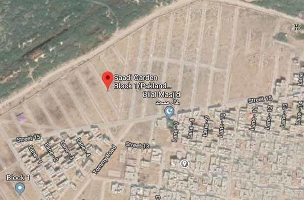 120 Sq Yards Plots in Sadi Garden Block-1.All Facilities Available