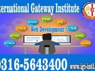 Advanced Web Development Training in Islamabad O3165643400