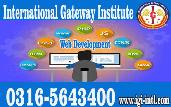 Advanced Web Development Training in Islamabad O3165643400