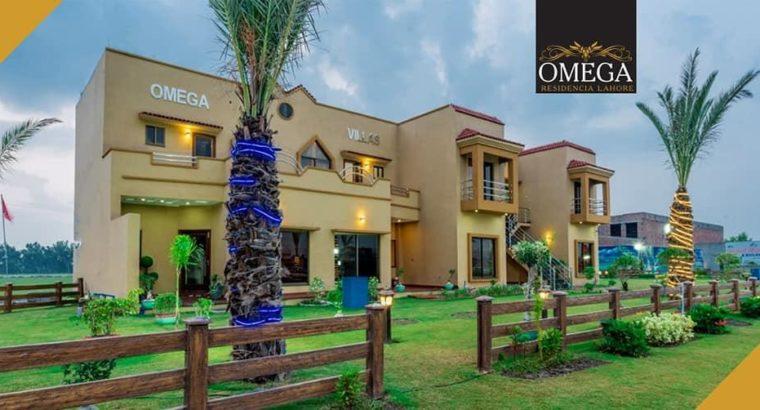 5 Marla Omega Residencia Plot 4 Years Installment Plan Faizpur Interchange Lahor